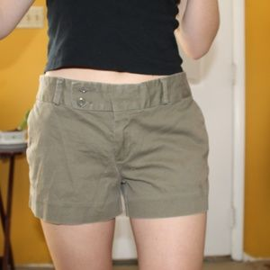 Banana Republic Green Bermuda Shorts